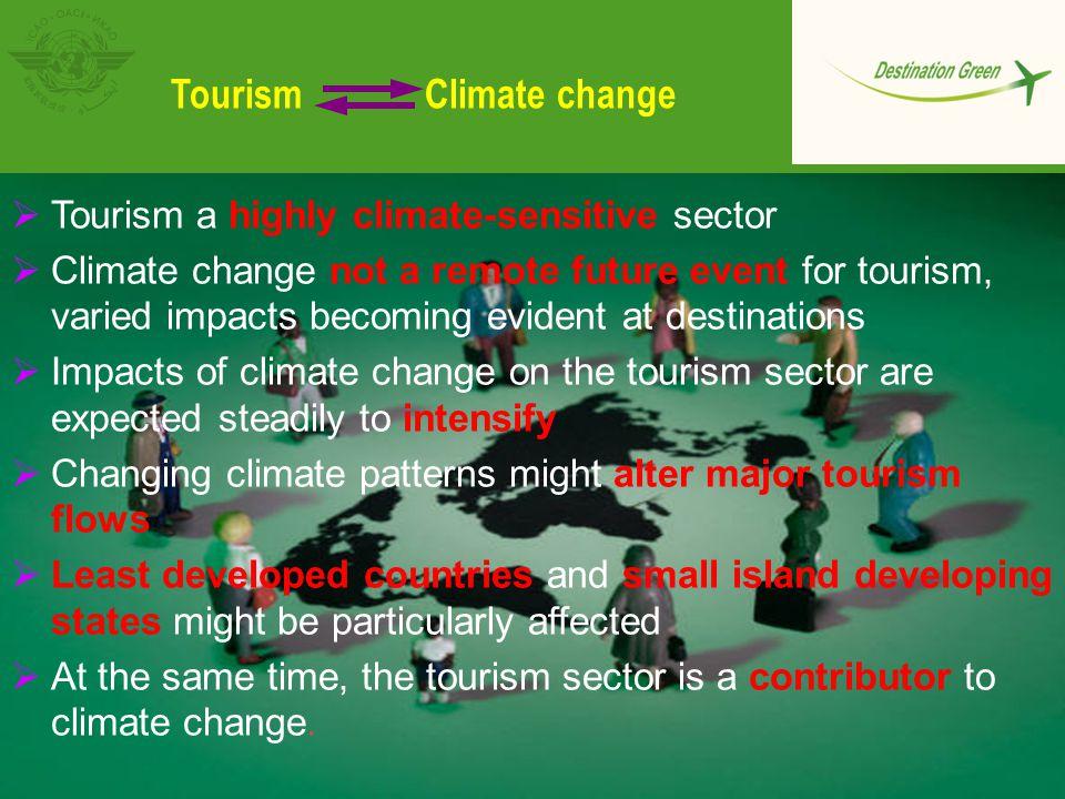 Tourism Climate change