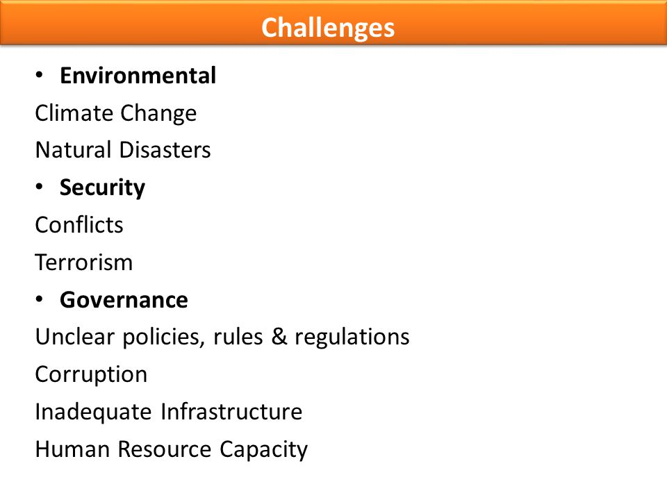 Challenges Environmental Climate Change Natural Disasters Security