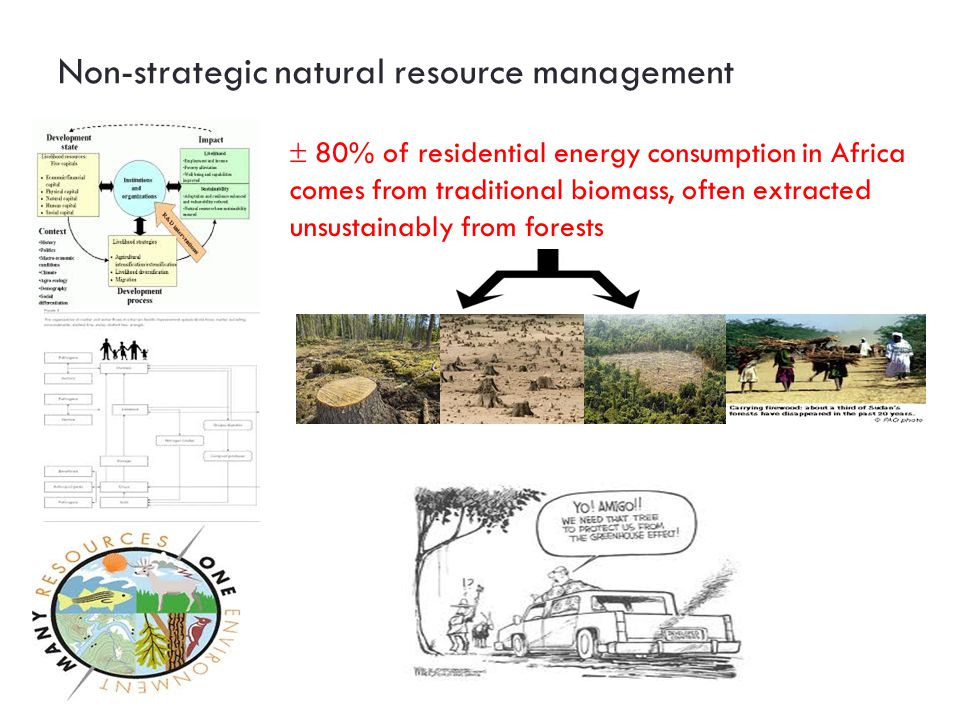 Non-strategic natural resource management