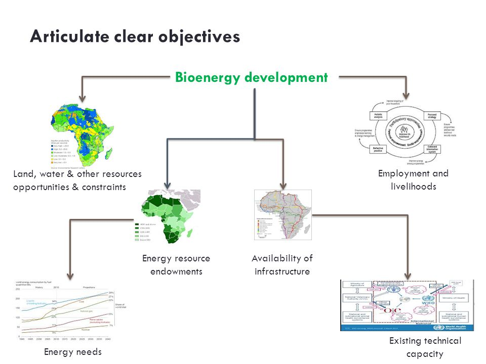 Articulate clear objectives