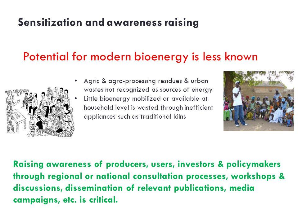 Sensitization and awareness raising
