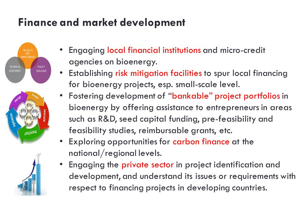 Finance and market development