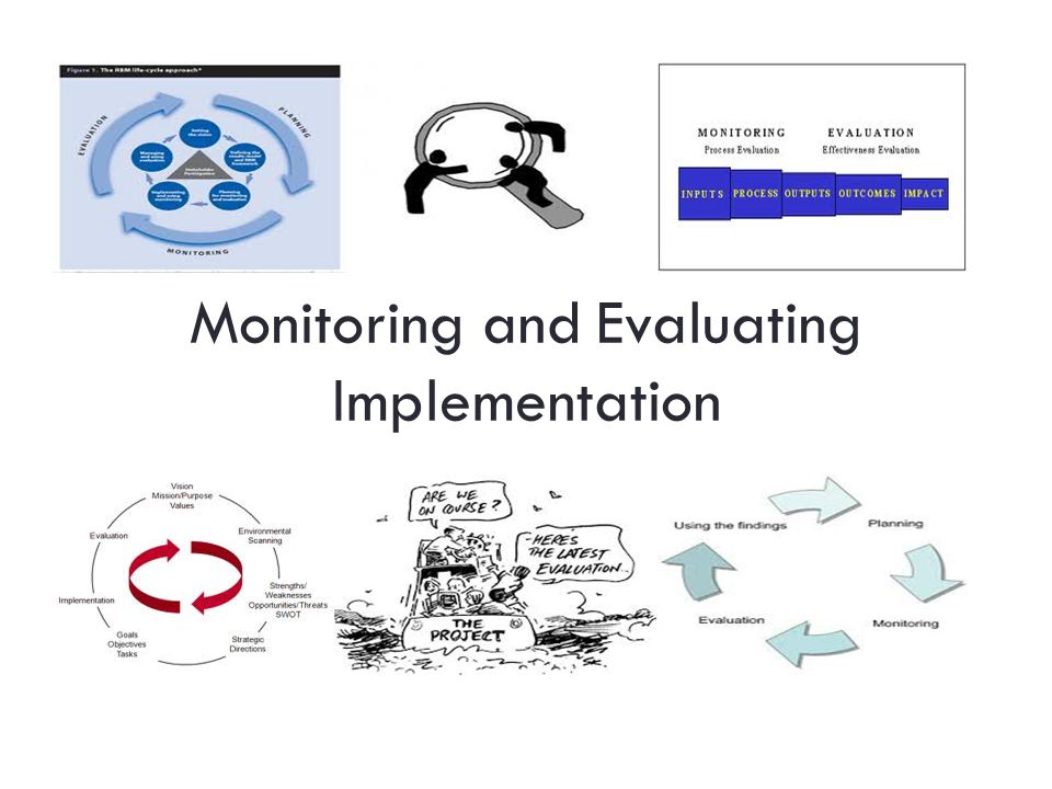 Monitoring and Evaluating Implementation