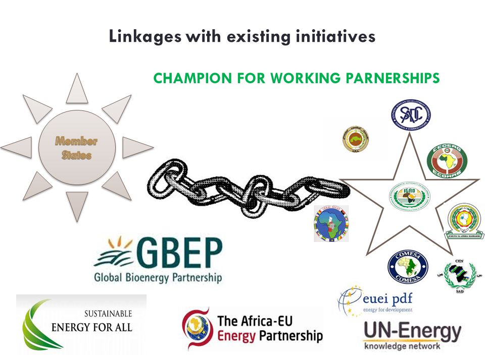Linkages with existing initiatives