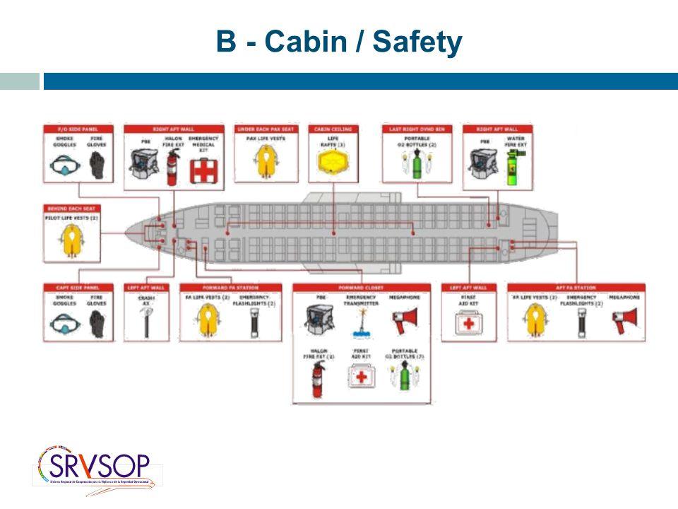 B - Cabin / Safety