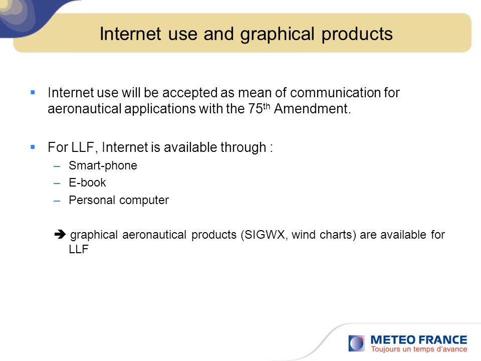Internet use and graphical products
