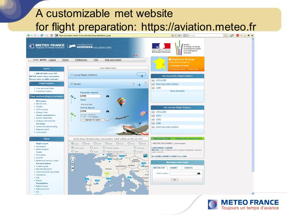 A customizable met website for flight preparation: https://aviation