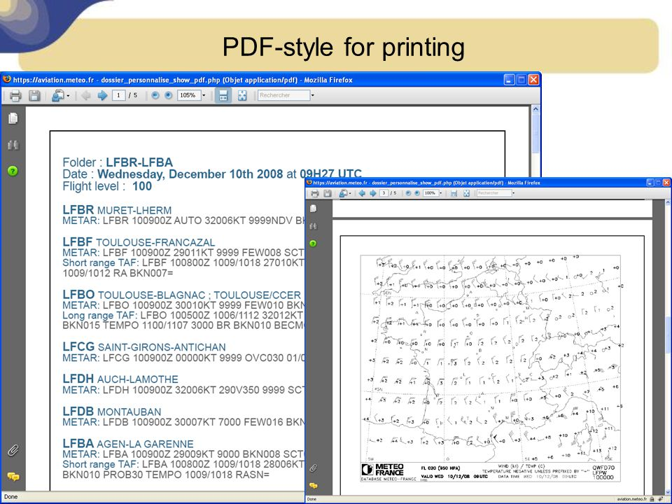PDF-style for printing