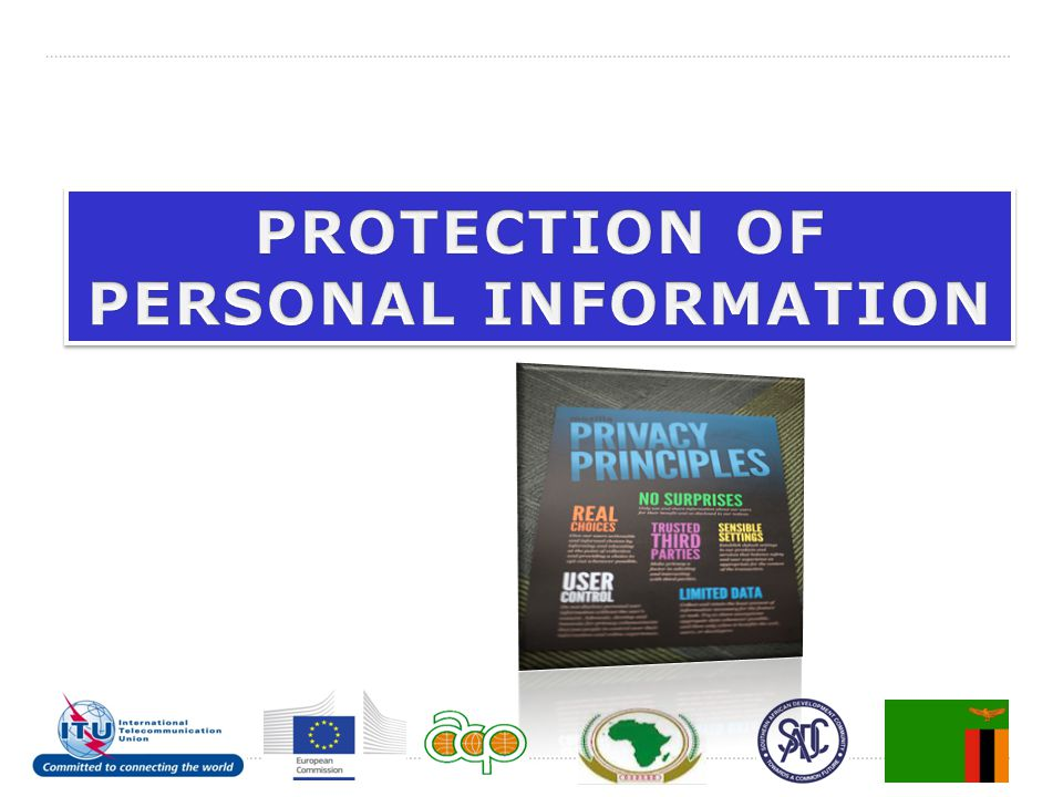 PROTECTION OF PERSONAL INFORMATION