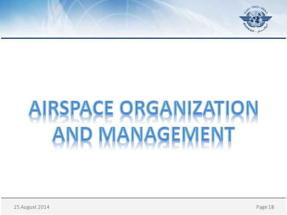 airspace organization