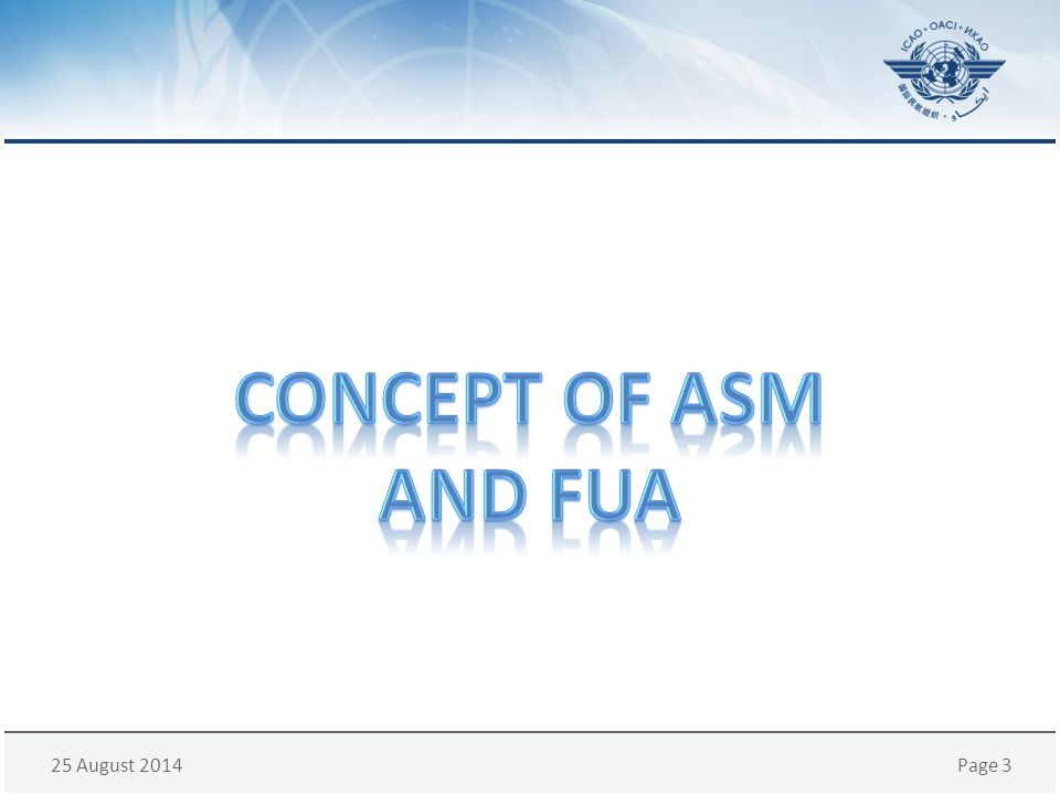 Concept OF ASM And FUA