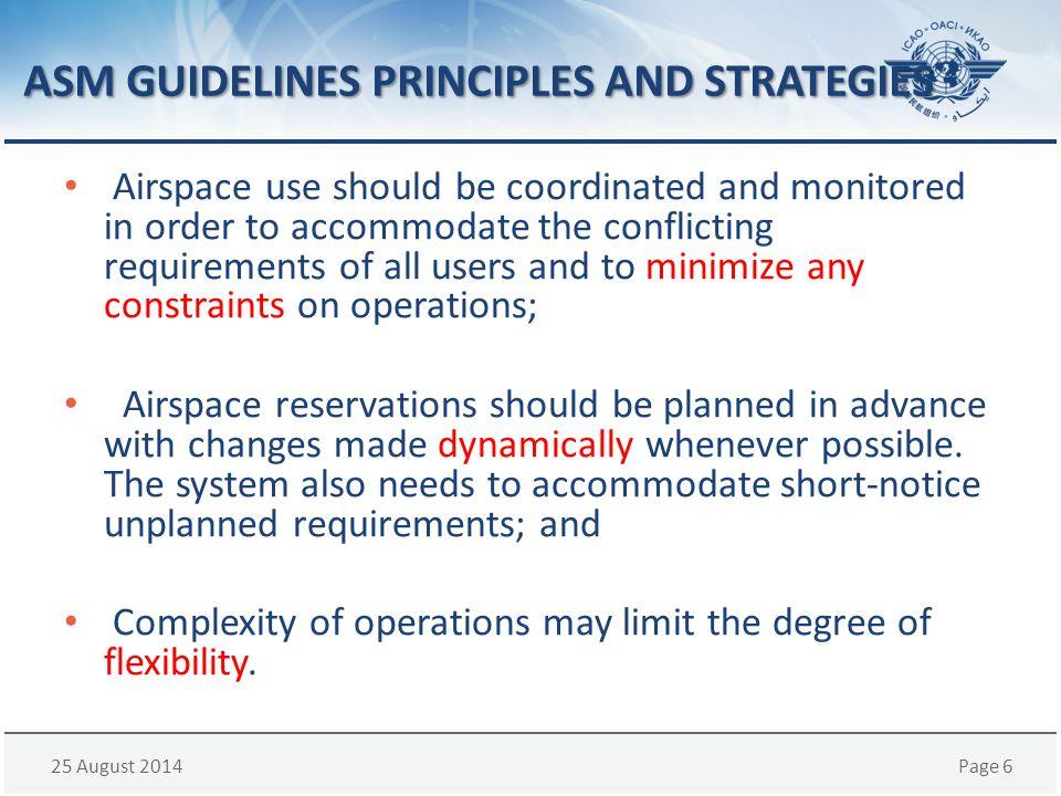 ASM GUIDELINES PRINCIPLES AND STRATEGIES