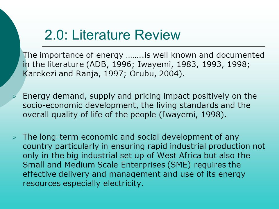 Literature review on smes in africa  pay to write an essay
