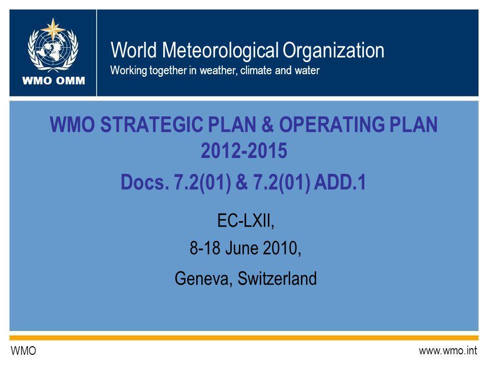 EC-LXII, 8-18 June 2010, Geneva, Switzerland