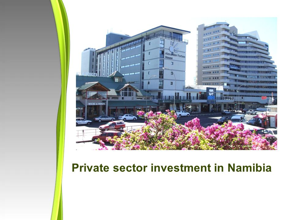 Private sector investment in Namibia
