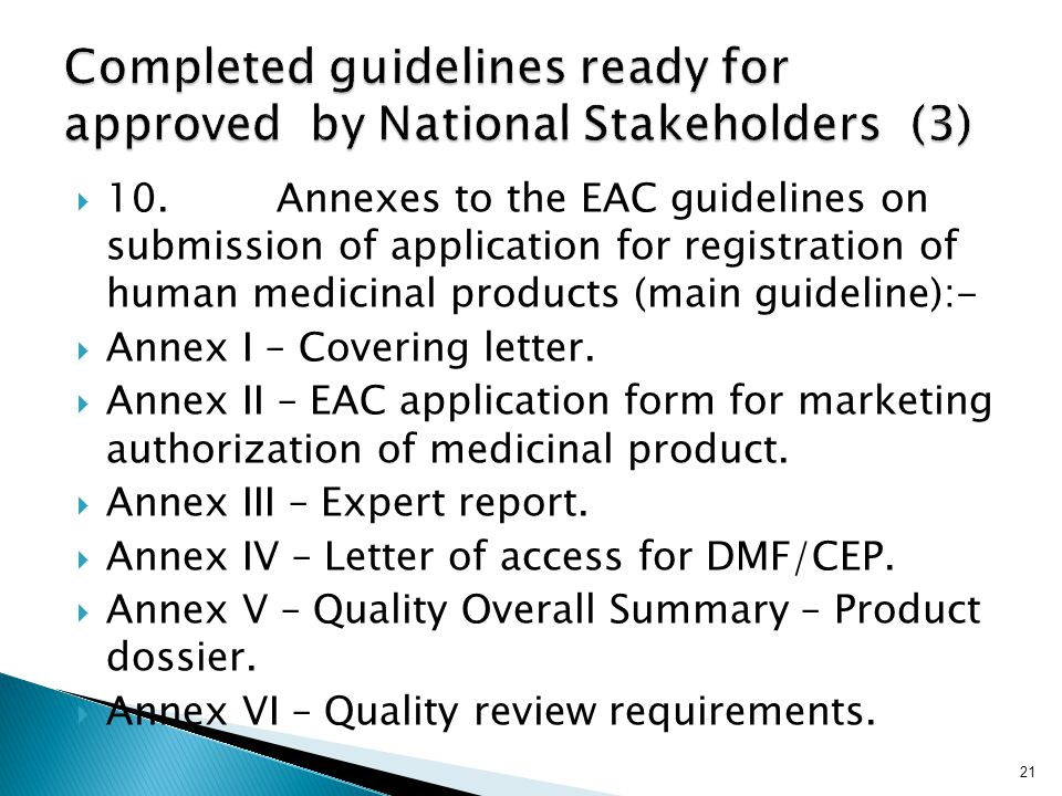 Completed guidelines ready for approved by National Stakeholders (3)