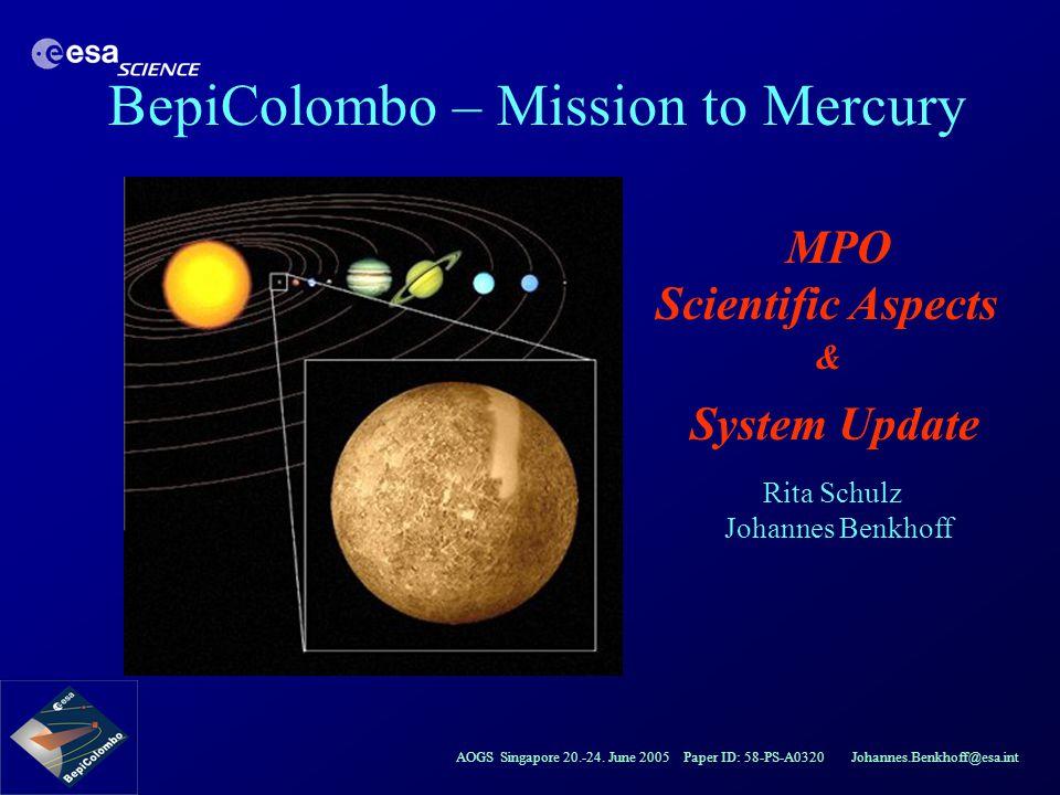 MPO Scientific Aspects