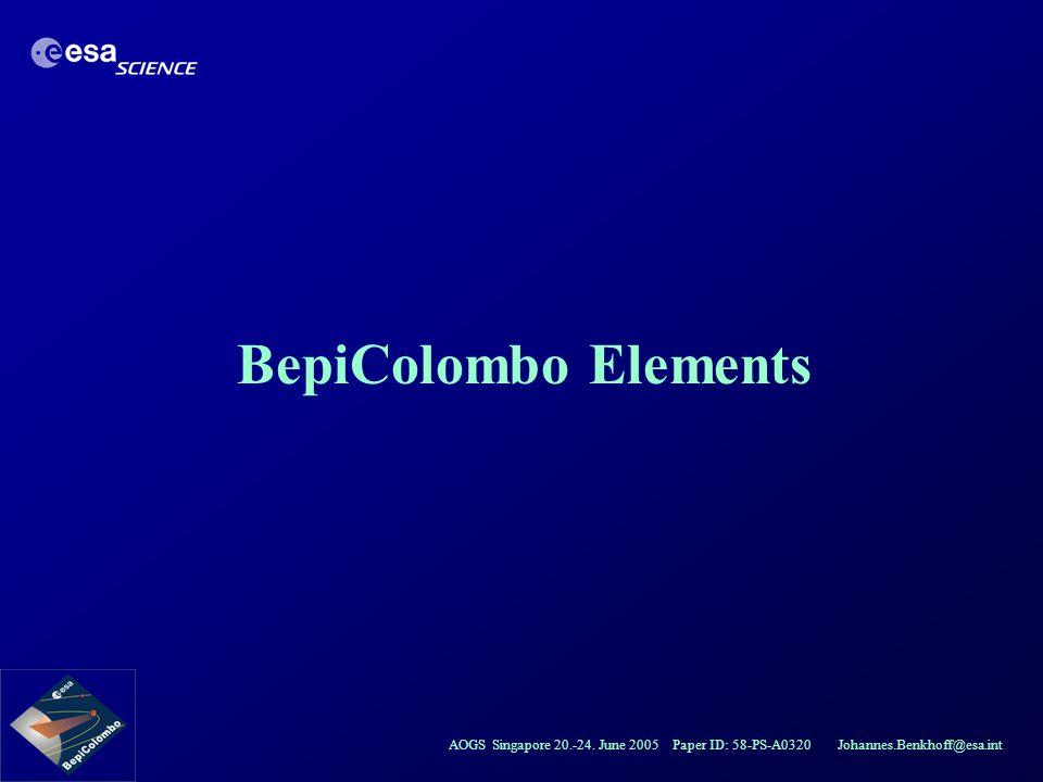 BepiColombo Elements
