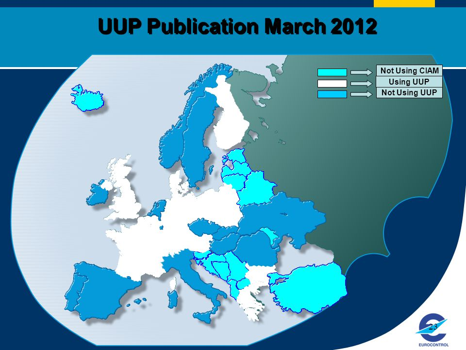 UUP Publication March 2012 Not Using CIAM Using UUP Not Using UUP