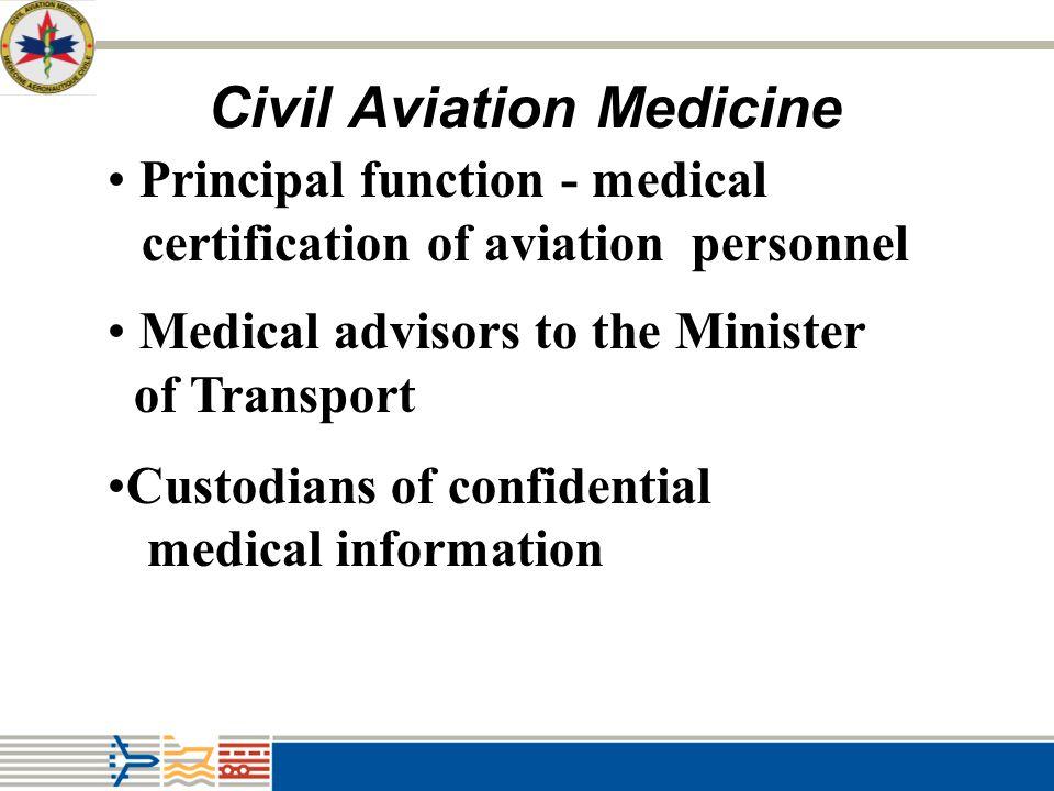 Civil Aviation Medicine