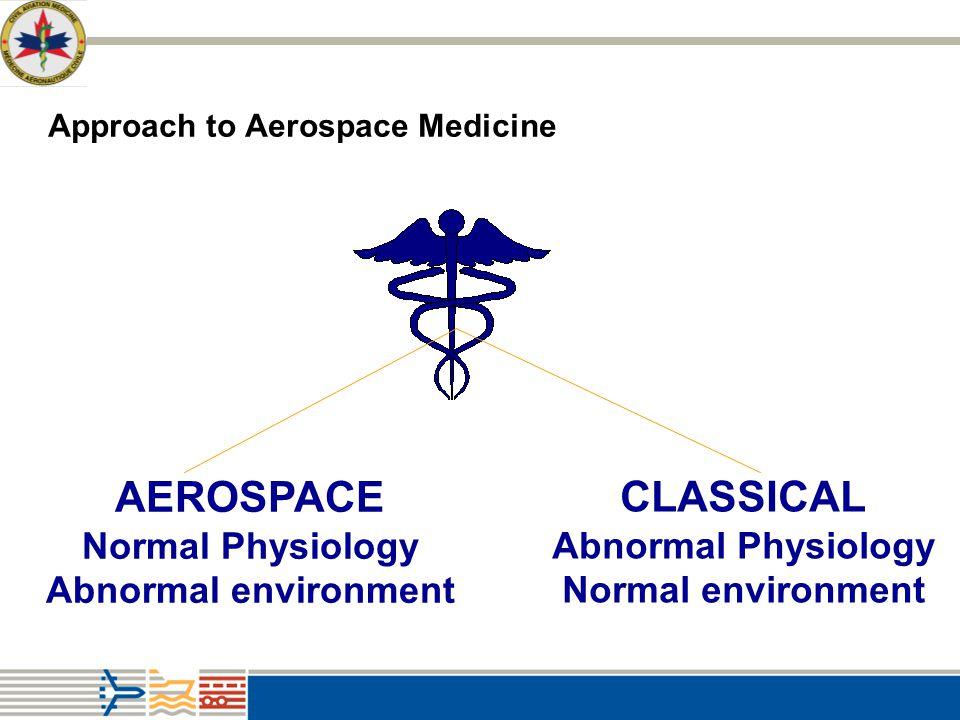Approach to Aerospace Medicine