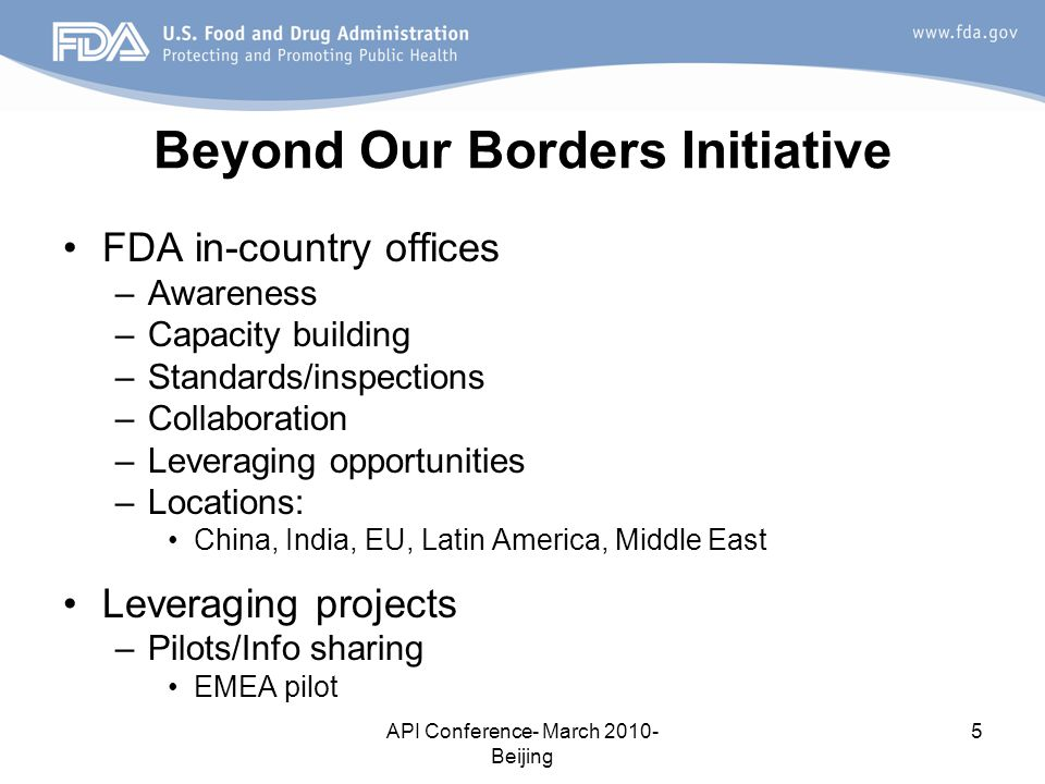 Beyond Our Borders Initiative