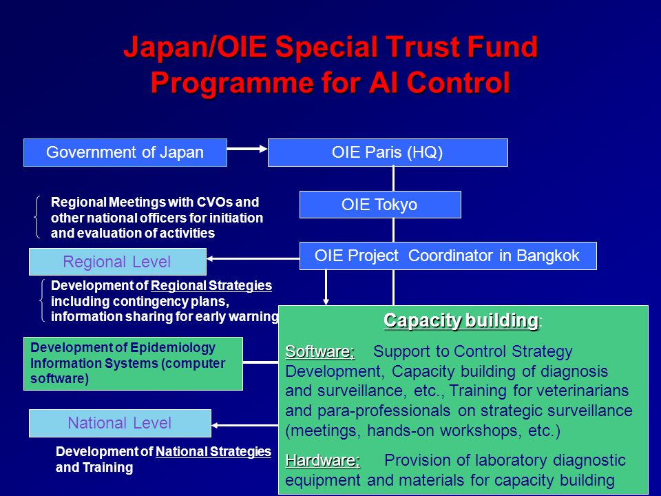 Japan/OIE Special Trust Fund Programme for AI Control
