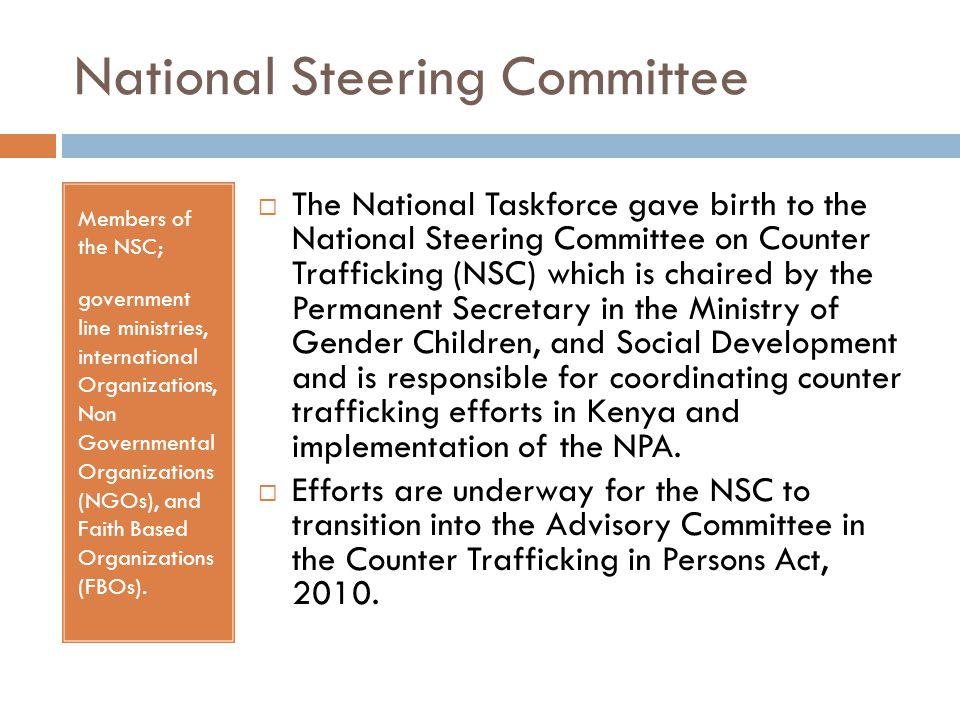 National Steering Committee