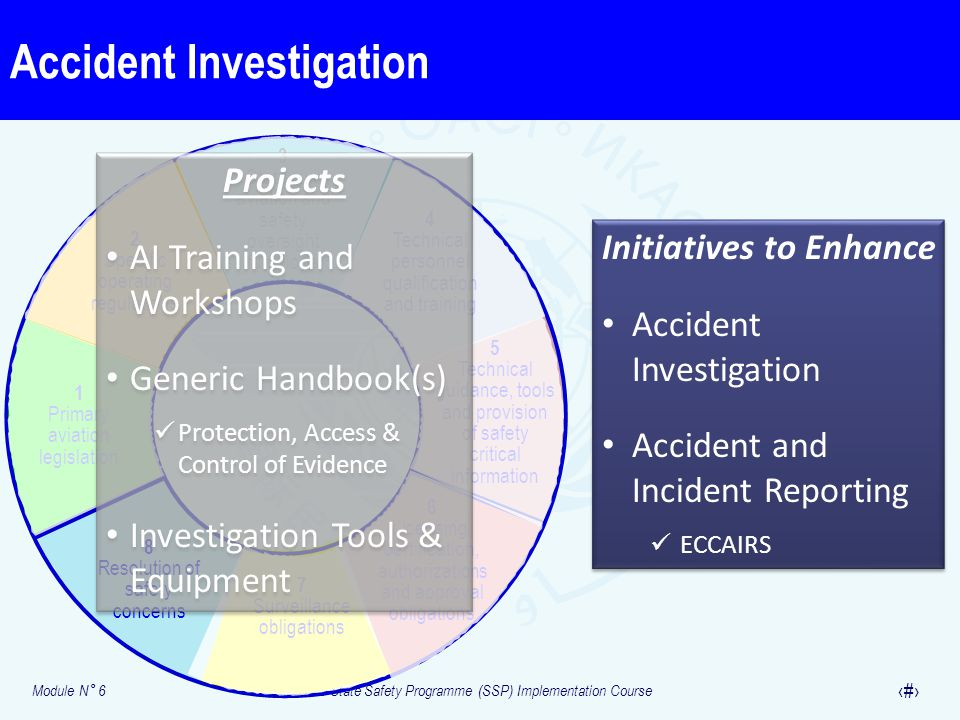 Accident Investigation Critical elements (CE)