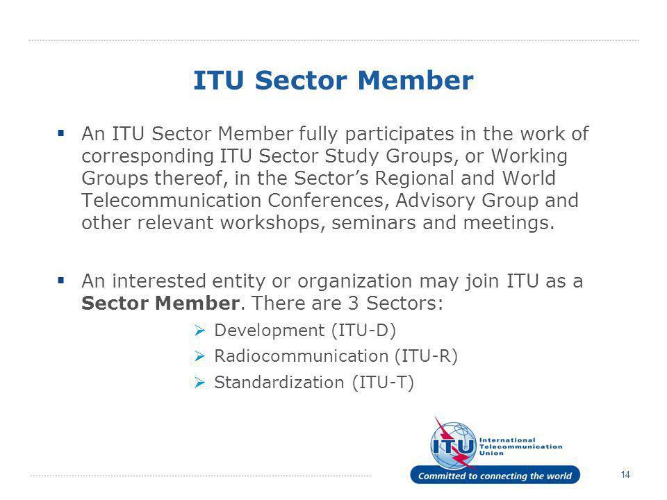 ITU Sector Member