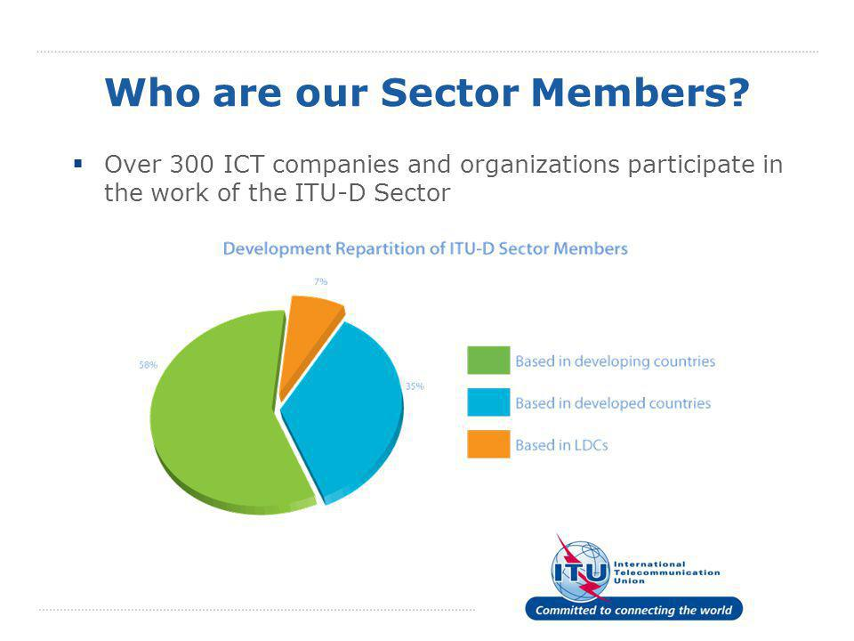 Who are our Sector Members