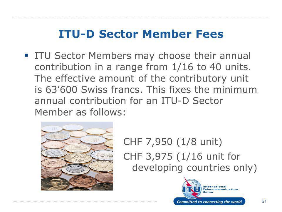 ITU-D Sector Member Fees