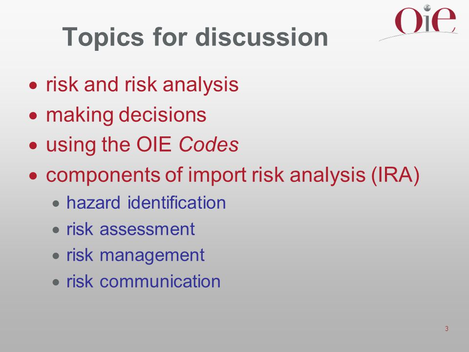 Topics for discussion risk and risk analysis making decisions