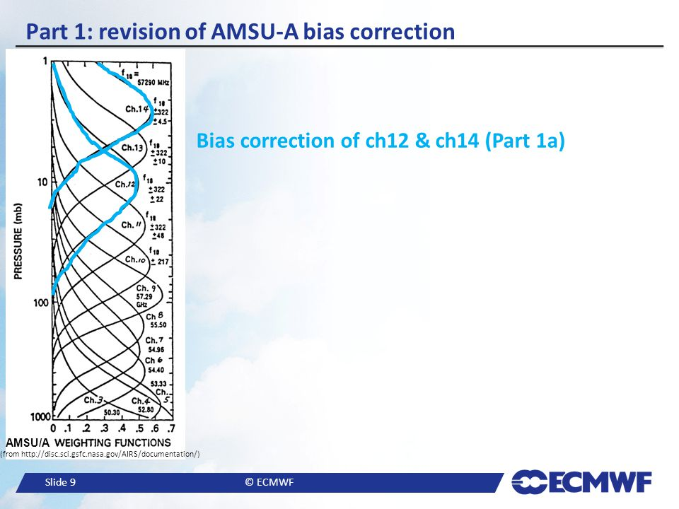 Part 1: revision of AMSU-A bias correction