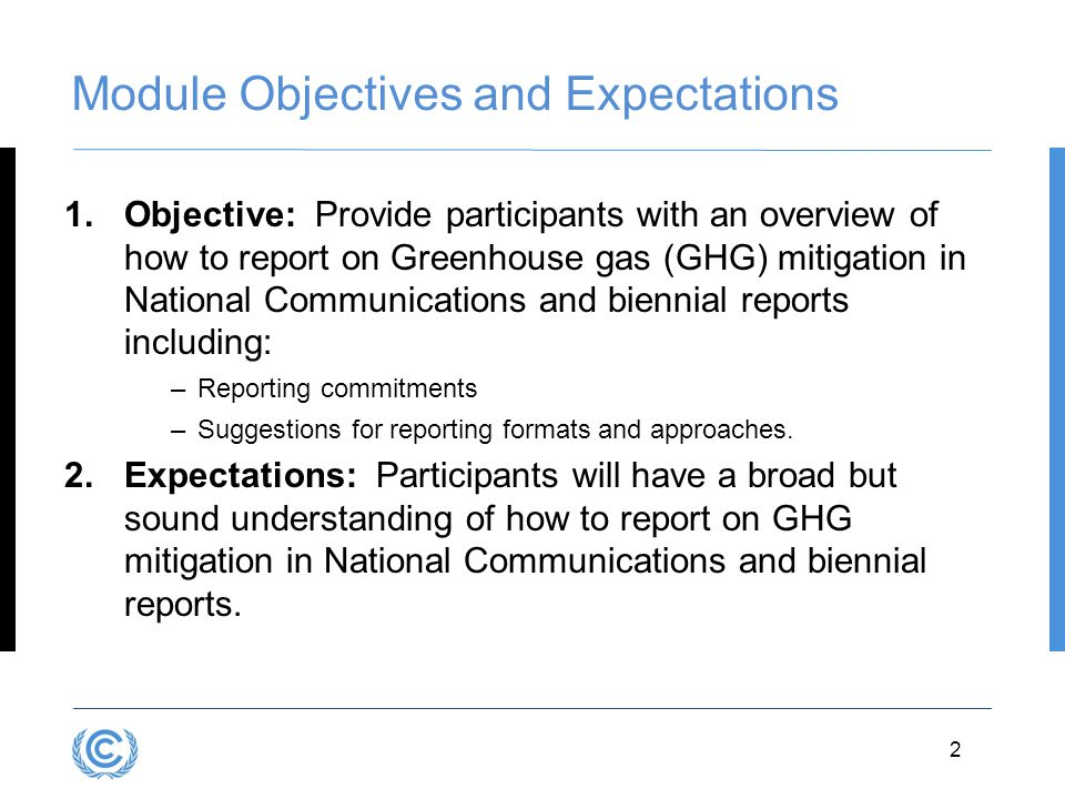 Module Objectives and Expectations