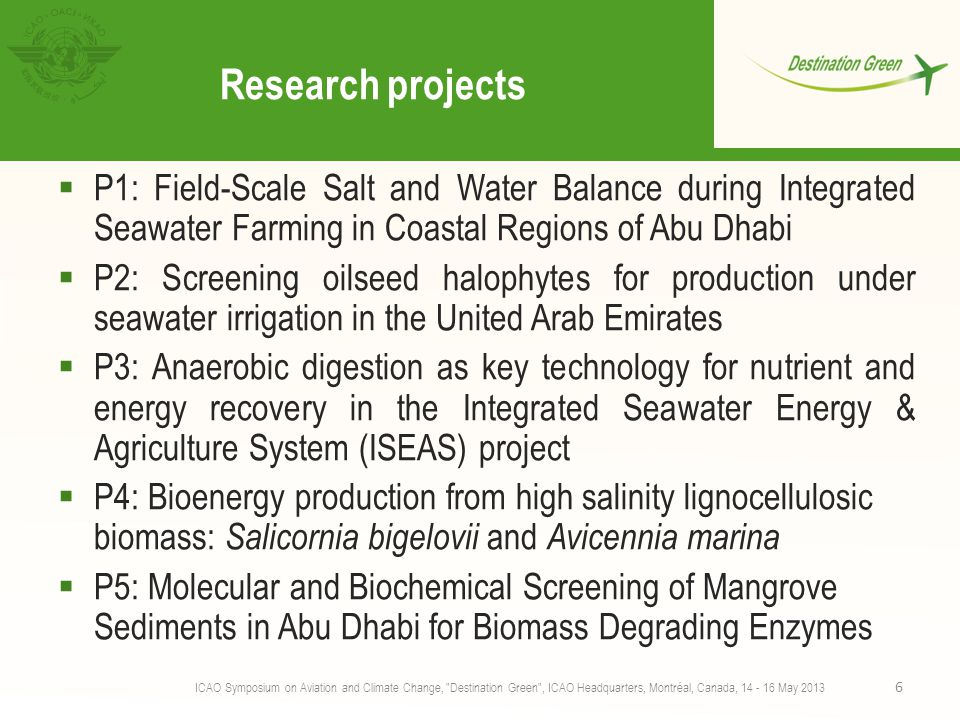 Research projects P1: Field-Scale Salt and Water Balance during Integrated Seawater Farming in Coastal Regions of Abu Dhabi.