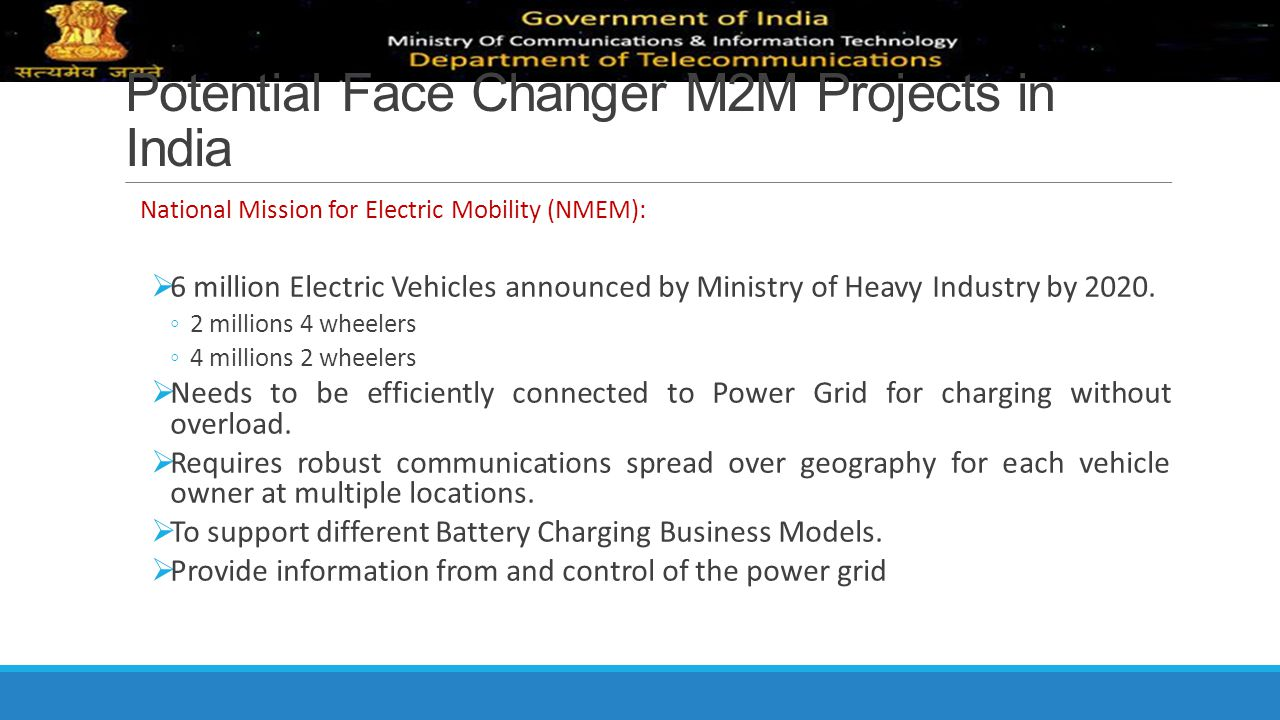 Potential Face Changer M2M Projects in India