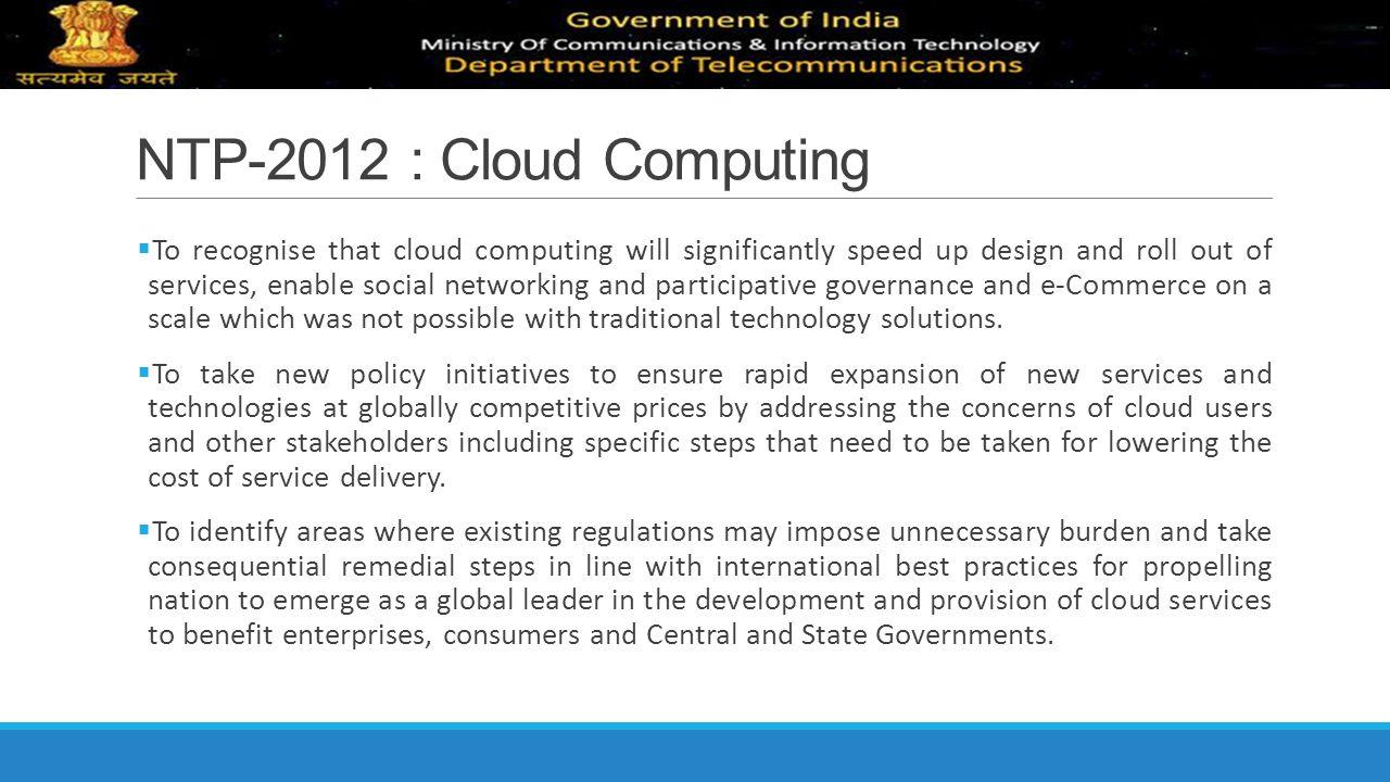 NTP-2012 : Cloud Computing