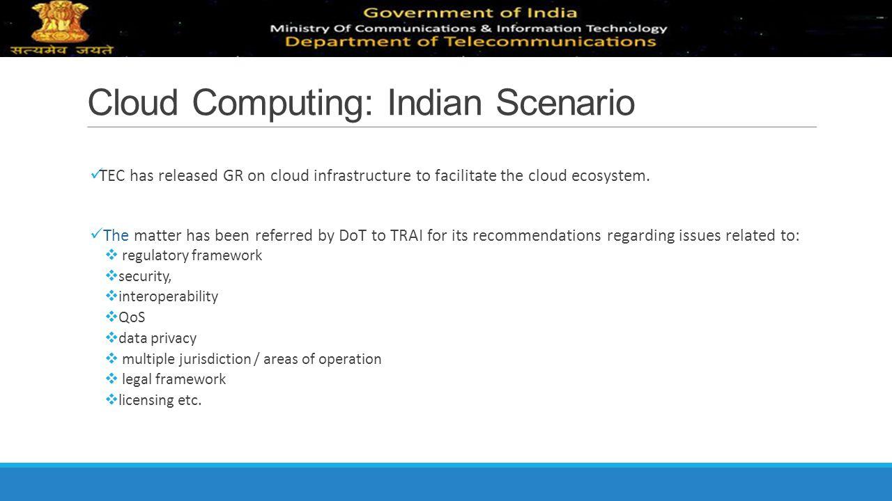 Cloud Computing: Indian Scenario