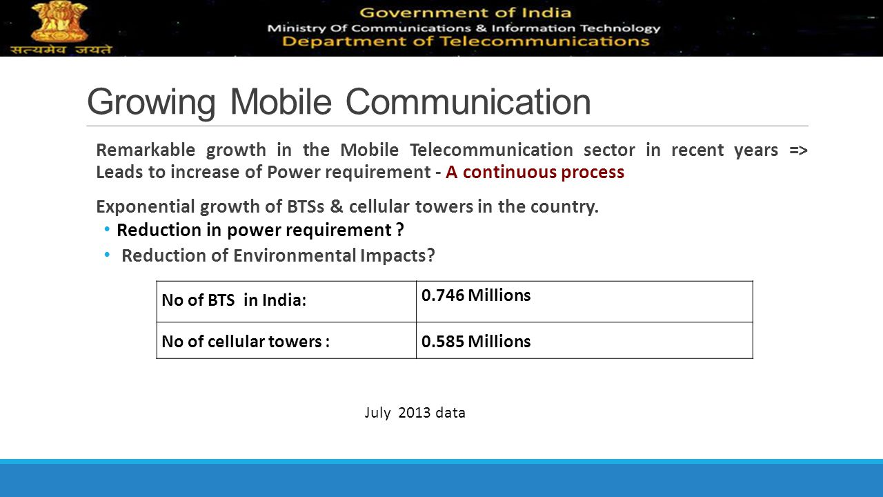 Growing Mobile Communication
