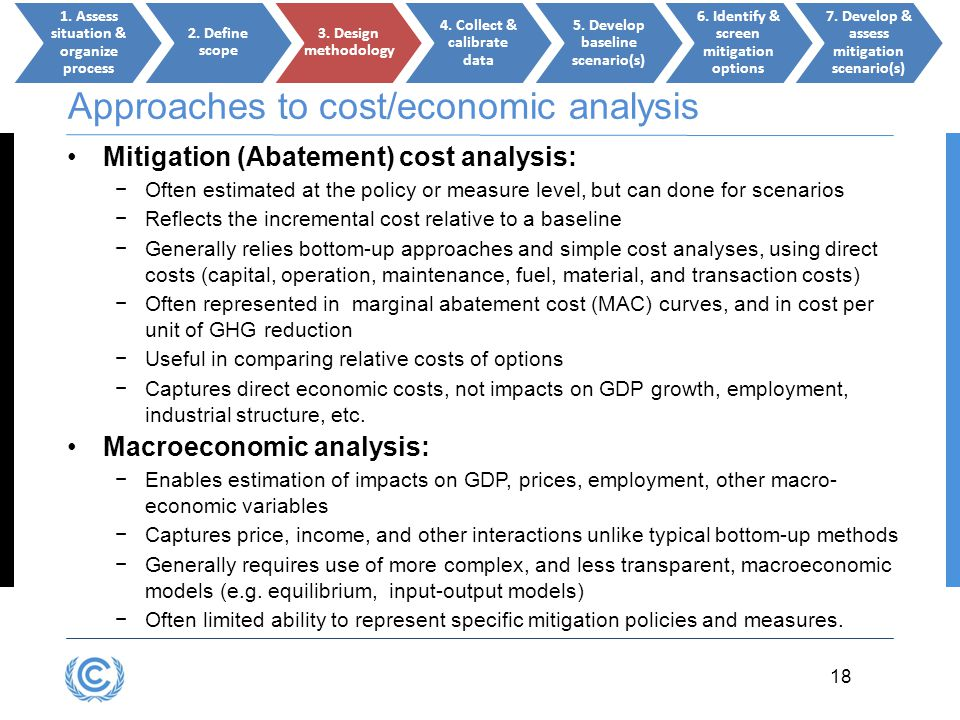 Approaches to cost/economic analysis