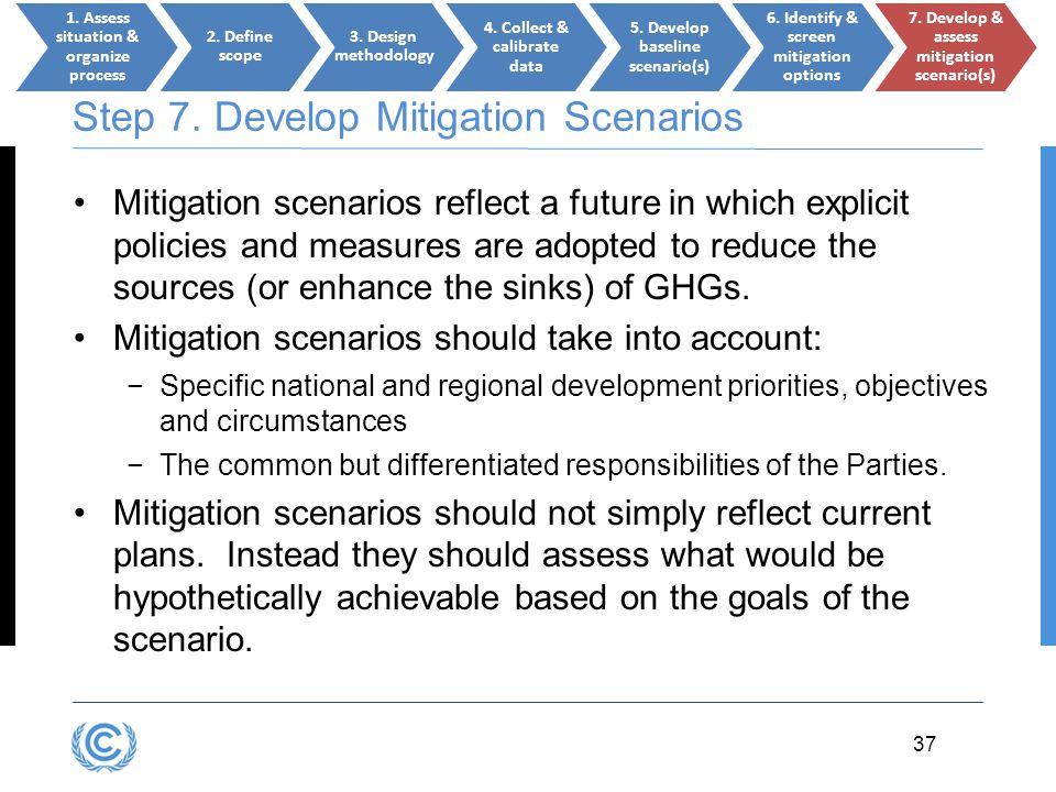 Step 7. Develop Mitigation Scenarios