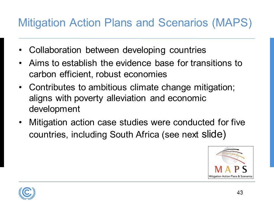Mitigation Action Plans and Scenarios (MAPS)