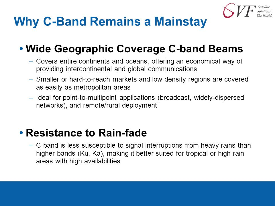 Why C-Band Remains a Mainstay