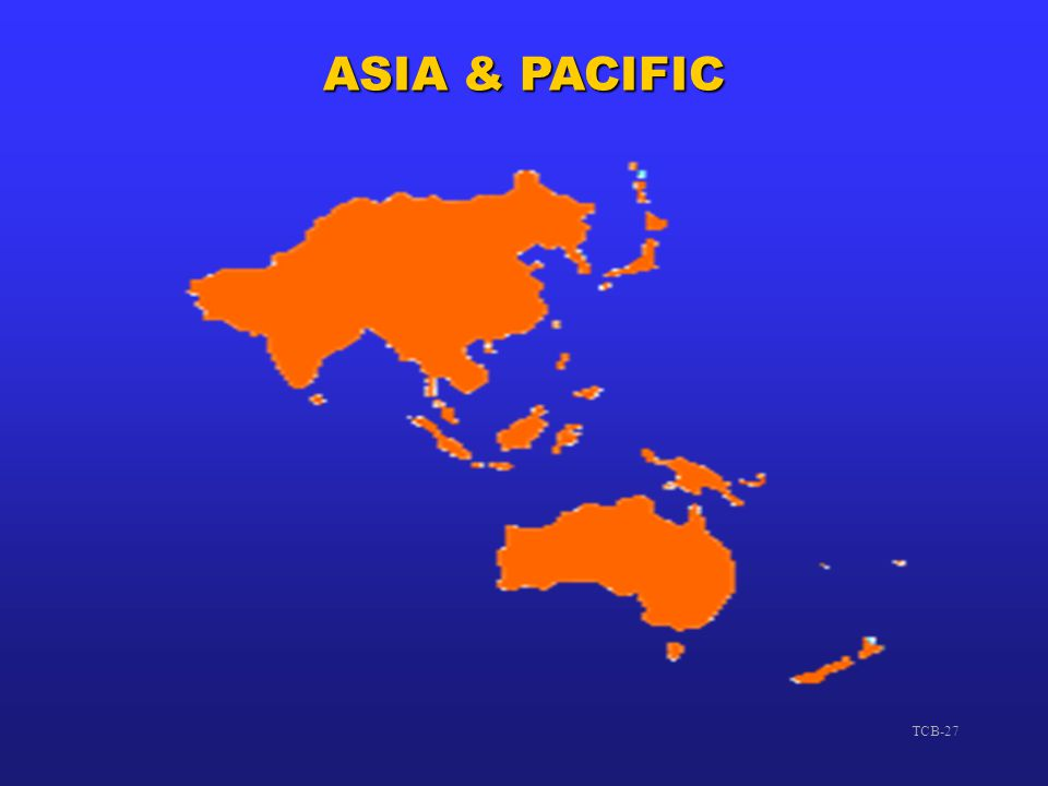 TCB - GENERAL ASIA & PACIFIC. 23 July 2003.