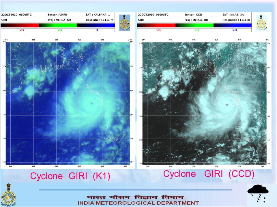 Cyclone GIRI (CCD) Cyclone GIRI (K1)