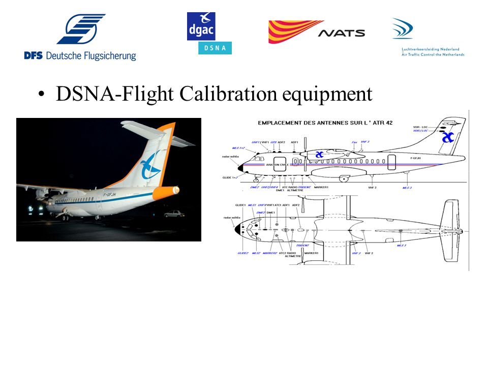 DSNA-Flight Calibration equipment