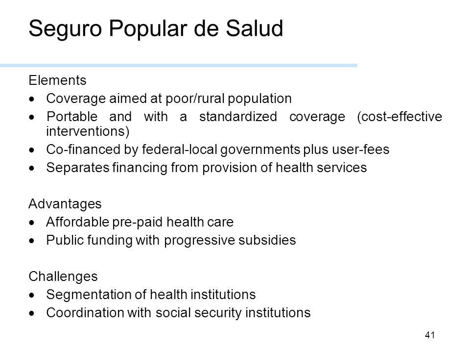Seguro Popular de Salud