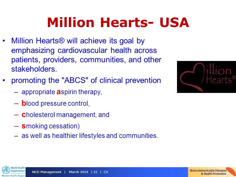 Million Hearts- USA