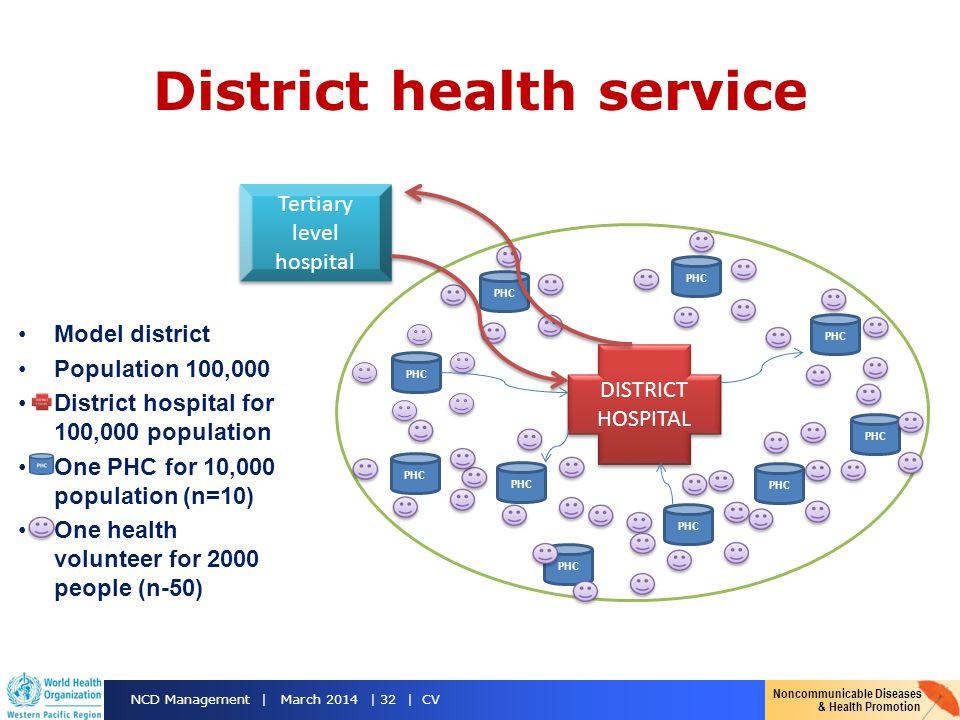 District health service
